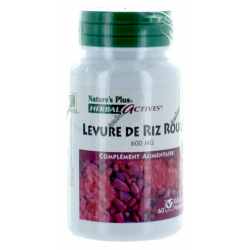 NATURE'S RIZ ROUGE 600MG 60 GELULES