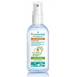 PURESSENTIEL ASSAINISSANT LOTION SPRAY ANTIBACTIEN MAINS & SURFACES 3HE 80ML