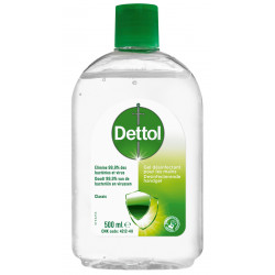 DETTOL GEL ANTIBACT ALOE VERA /500ML