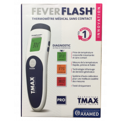 THERMOMETRE SS CONTACT FEVERFLASH AX-T55