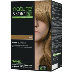 Santé verte nature & soin coloration permanente blond clair doré 8g 129ml