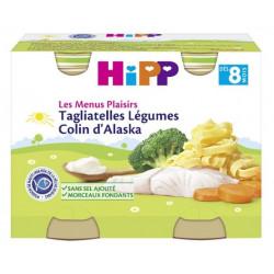 HIPP MENU TAGLIAT LEGUMES COLIN DES 8 MOIS 230G