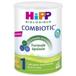 HIPP LAIT COMBIOTIC FORMULE EPAISSE 0 A 6 MOIS 800G
