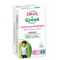 LOVE&GREEN EXTRA LARGE 16 CULOTTES + DE 16KG
