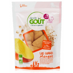 GOOD GOUT BISCUITS CEREALES MANGUE 8M 50G