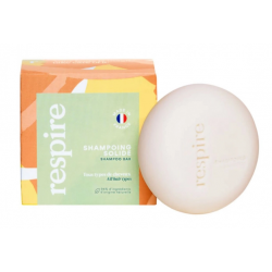 RESPIRE SHAMPOING SOLIDE LAIT AMANDES 20G