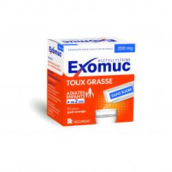 Exomuc orange 200mg 24 sachets