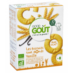 GOOD GOUT BISCUIT TOUT ROND VANILLE 10M 80G