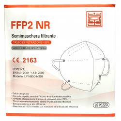 Orgakiddy Masques TYPE FFP2 NR x20 Marquage CE - Norme EN149.2001+A1:2009