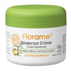 FLORAME DEODORANT CREME VERVEINE-CITRON 50G