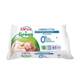 LOVE amp GREEN LINGETTE A LaposEAU NAT /56