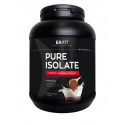 Eafit pure isolate saveur chocolat 750 g