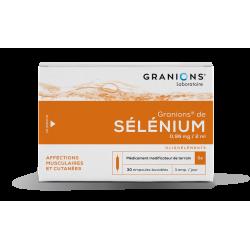 Granions de selenium 30 ampoules de 2ml