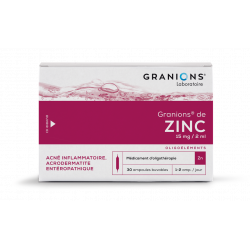 Granions zn s buv b/30amp/2ml grossiste