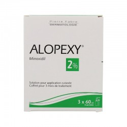 Alopexy 2% solution pour application cutanee 3x60ml