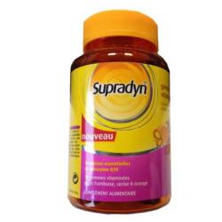 Supradyn gommes vitaminées goûts framboise, cerise & orange 70 gommes