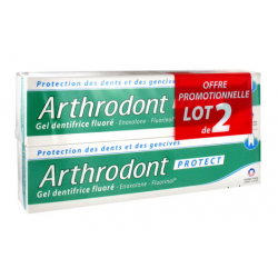 Arthrodont protect gel dentifrice 2 x 75ml