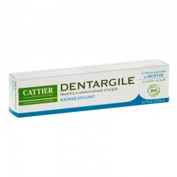 Cattier dentargile menthe 75ml