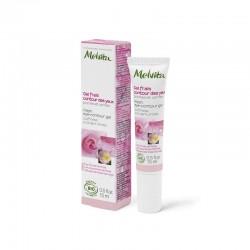Melvita nectar de rose gel frais contour des yeux 15 ml