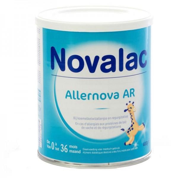 novalac lait allernova ar 0 36 mois 400g pharmacie cap3000. Black Bedroom Furniture Sets. Home Design Ideas