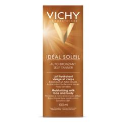 Vichy idéal soleil auto bronzant visage et corps 100 ml