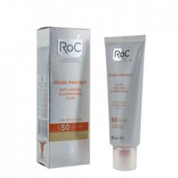 Roc fluide anti-âge illuminateur spf 50 50ml