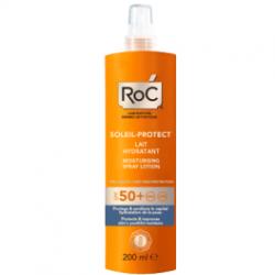 Roc lait hydratant en spray spf 50+ 200ml