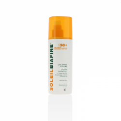 Soleilbiafine lait spray solaire spf50+ 200 ml