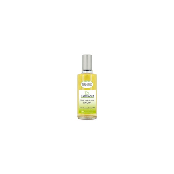 Natessance huile de jojoba rééquilibrante peaux fragilisées 50ml