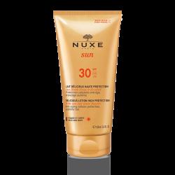 Nuxe sun lait délicieux visage et corps spf 30 150ml