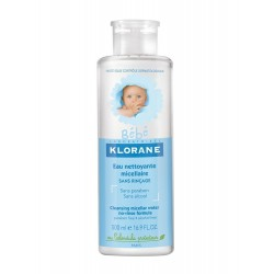 Klorane bébé eau nettoyante micellaire sans rinçage 500 ml