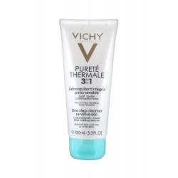 Vichy pureté thermale 3 en 1 démaquillant intégral peau sensible 100ml