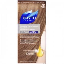 Phyto color coloration soin permanente haute brillance aux pigments végétaux blond foncé acajou