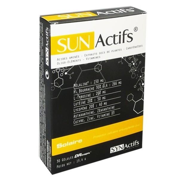 Aragan sunactifs solaire 30 gélules