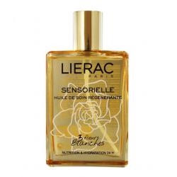 Liérac huile de soin régénérante sensorielle aux 3 fleurs blanches 100ml