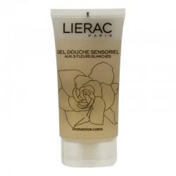 Lierac gel douche sensoriel aux 3 fleurs blanches 150ml