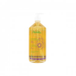 Melvita shampooing douche extra-doux figue et kiwi 1l