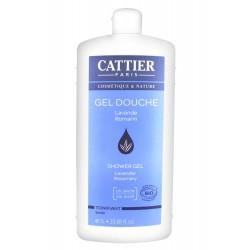 Cattier gel douche lavande romarin 1 l
