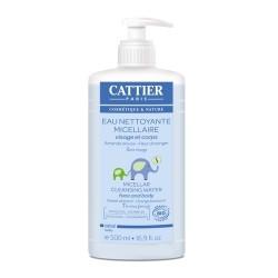 Cattier bébé eau nettoyante micellaire 500ml