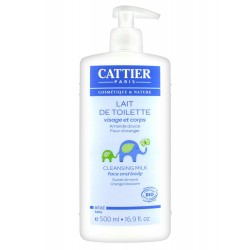 Cattier bébé lait de toilette 500 ml
