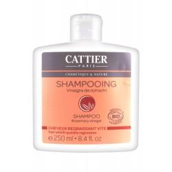 Cattier shampoing cheveux regraissant vite vinaigre de romarin 250 ml