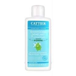 Cattier kids bio shampooing démêlant 200 ml