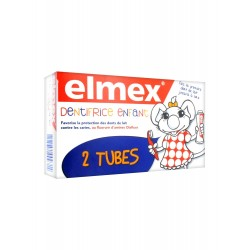Elmex dentifrice enfant 2 x 50 ml