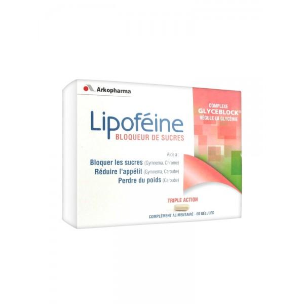 Arkopharma lipoféine bloqueur de sucres 60 gélules
