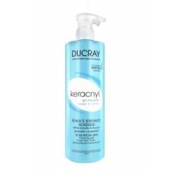 Ducray keracnyl gel moussant visage et corps 400ml
