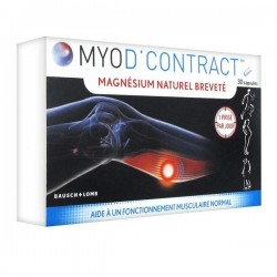 Bausch & lomb myod'contract 30 capsules