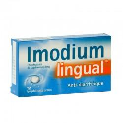 Imodiumlingual 2mg 10 lyophilisats oraux