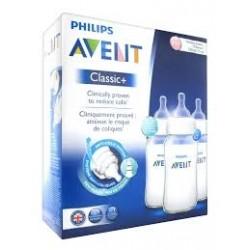 Avent classic + 3 biberons 330 ml
