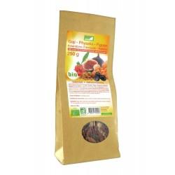 Exopharm mélange 5 fruits séchés biologiques 250 g