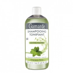 Gamarde shampoing tonifiant menthe poivrée 500ml